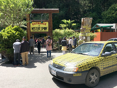Mystery Spot entrance